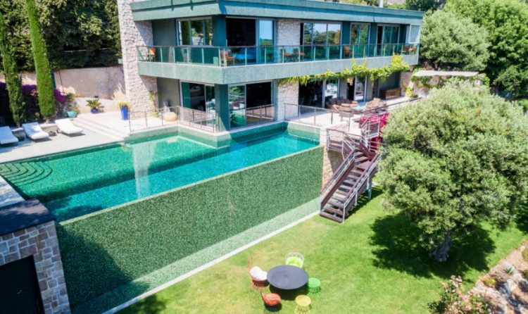 Sumptuous villa in Cap d'Ail for sale